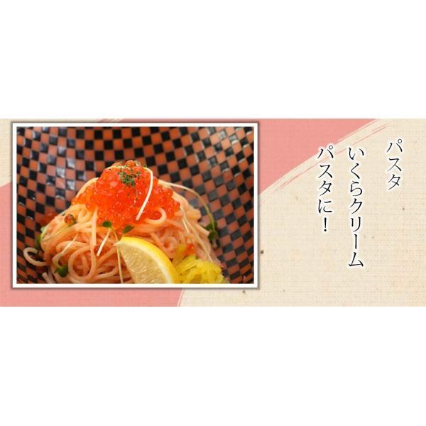 いくら醤油漬 ( サーモントラウト 卵 ) 500g(250g×2パック入り) / 北欧サーモン いくら イクラ 小粒|kanipara|11
