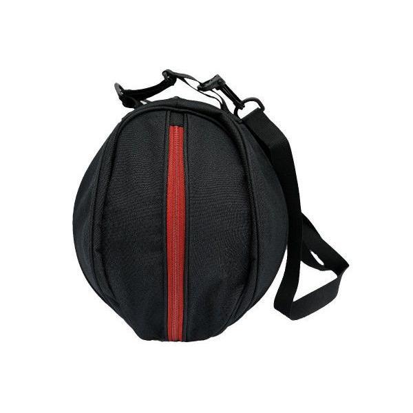 AND1 バスケット SURFACE BALL BAG ボールバッグ 05979 ブラック×レッド アンドワン ミニバス ダンス|kanisponet|02