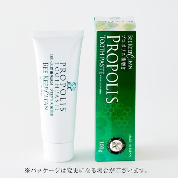 プロポリス歯磨き  ビーキープクリーン4本セット|kanjyukuya|03
