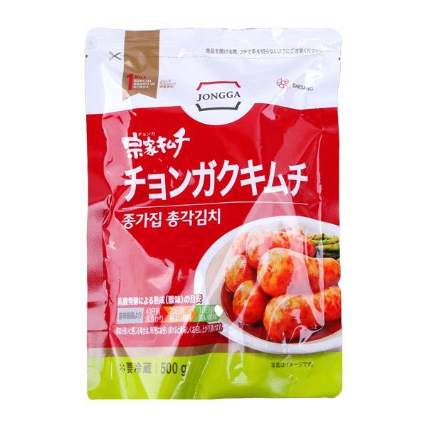 [冷]宗家大根キムチ(チョンガク)500g韓国キムチ/大根キムチ|kankoku-ichiba
