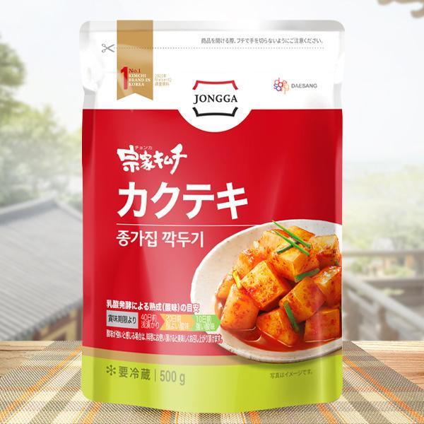 [冷]宗家カクテキ500g/韓国キムチ/カクテキ|kankoku-ichiba