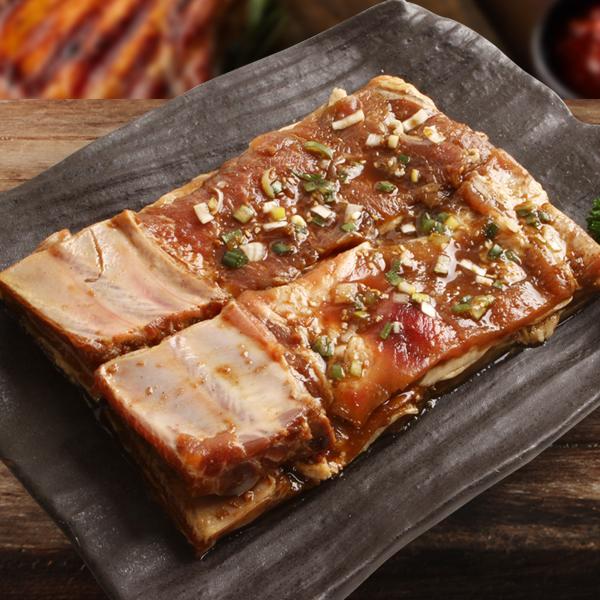[凍]ピョルチンヤンニョム(味付け)豚カルビ1kg-チリ産/韓国焼肉/BBQ|kankoku-ichiba