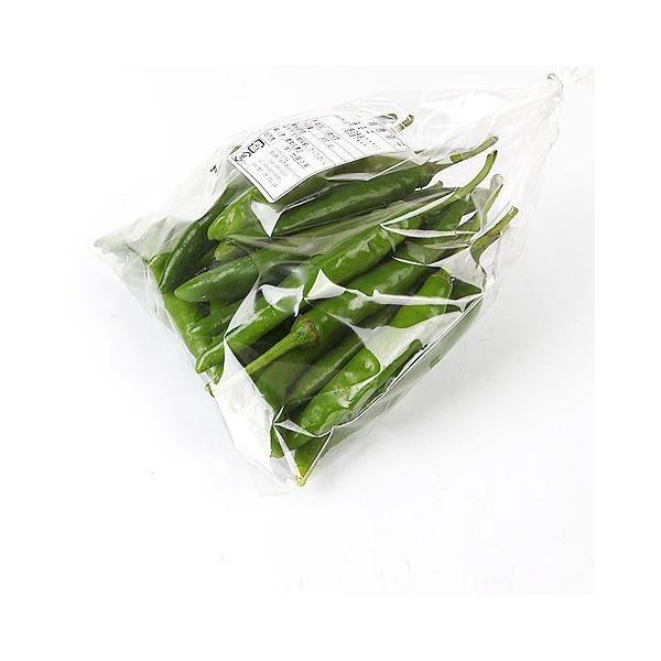 [冷]時価・青唐辛子1kg(辛い)-韓国産/韓国野菜/韓国食品/韓国市場|kankoku-ichiba|06