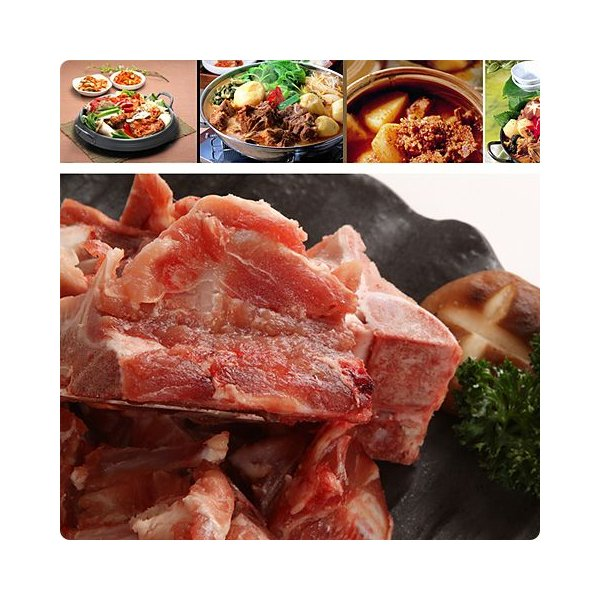 [凍]豚背骨(カムジャタン用)約1kg-日本産/韓国鍋/ジャガイモ鍋|kankoku-ichiba|04