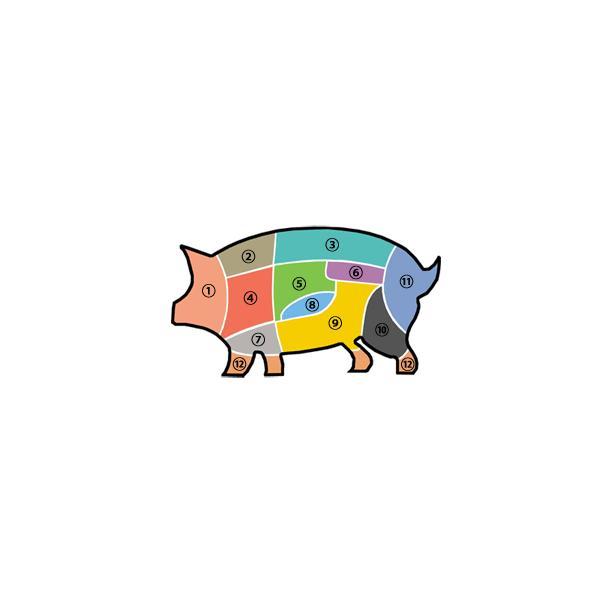 [凍]豚背骨(カムジャタン用)約1kg-日本産/韓国鍋/ジャガイモ鍋|kankoku-ichiba|06
