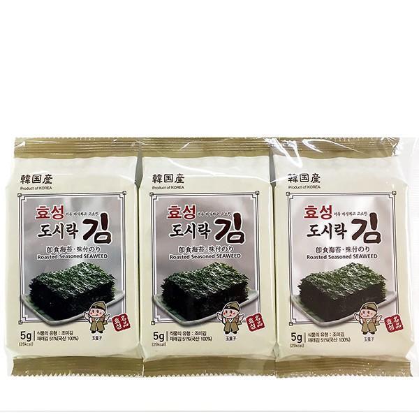 ヒョソンお弁当用海苔1箱(24×95円)/韓国海苔/味付海苔|kankoku-ichiba