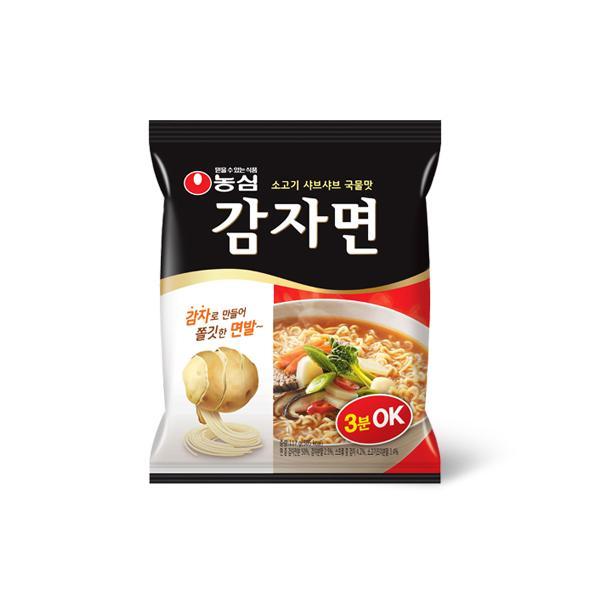 【SALE】ジャガイモラーメン1箱40個(105円×40)/韓国ラーメン/インスタントラーメン|kankoku-ichiba