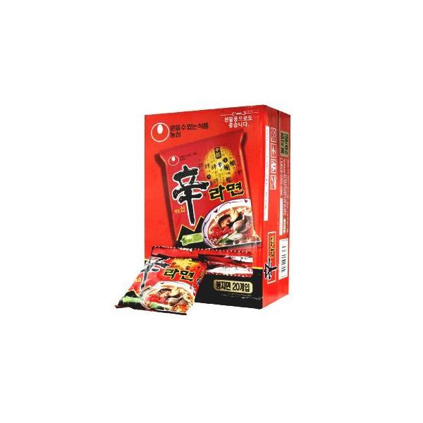 辛ラーメン 20個入りBOX/韓国らーめん/インスタントラーメン/お得商品|kankoku-ichiba