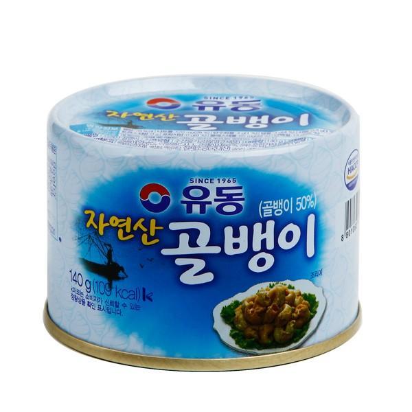 つぶ貝缶詰(自然産)140g/韓国缶詰/韓国つぶ貝缶詰|kankoku-ichiba