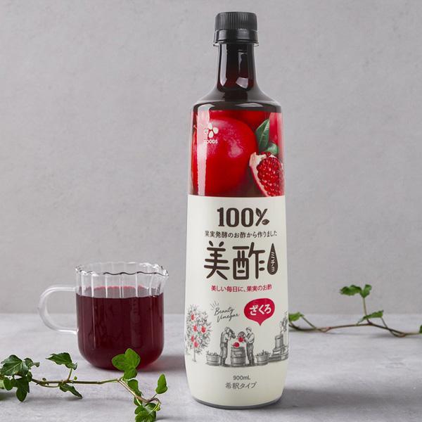プチジェル美酢(ミチョ)ざくろ/お酢飲料/飲む酢