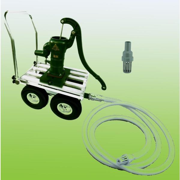 TOBO東邦工業 移動式手押しポンプ<共柄ポンプ型>『それ行けポンプ』T35PSCF−IDO|kankyogreenshop2