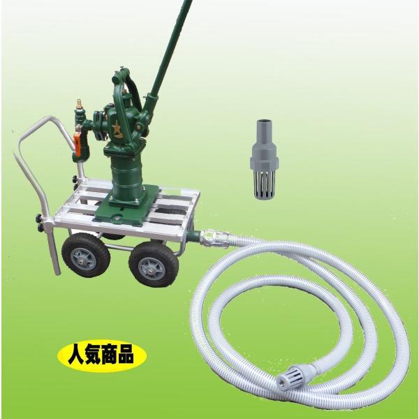TOBO東邦工業 移動式手押しポンプ<月星昇進ポンプ型>『それ行けポンプ』SY35SCF−IDO|kankyogreenshop2