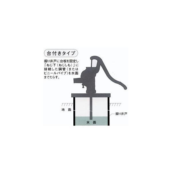 TOBO東邦工業 手押しポンプ<月星昇進ポンプ>SY35STKCF|kankyogreenshop2|02