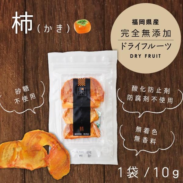 ドライフルーツ柿 10g ドライフルーツ 砂糖不使用 無添加 国産 はちみつ専門店 かの蜂