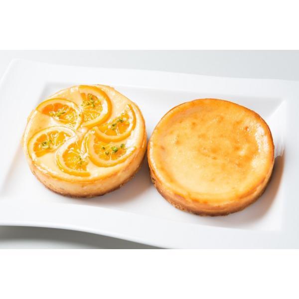 チーズケーキセット 人気の豊潤とオレンジのチーズケーキの組み合わせ お取り寄せ ギフト|kanoka-cake|02