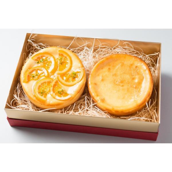 チーズケーキセット 人気の豊潤とオレンジのチーズケーキの組み合わせ お取り寄せ ギフト|kanoka-cake|03