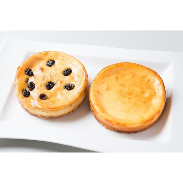 チーズケーキセット 人気の豊潤とラムレーズンチーズケーキの組み合わせ お取り寄せ ギフトに最適|kanoka-cake|02