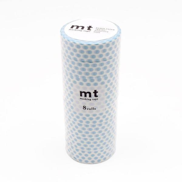 mt マスキングテープ 8P ドット・アイス MT08D360