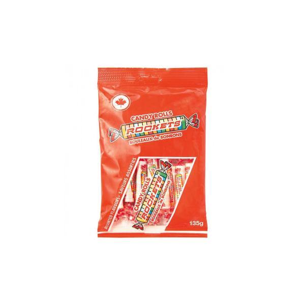 代引不可品  ROCKETS(ロケッツ) キャンディーロール 135g×12個セット