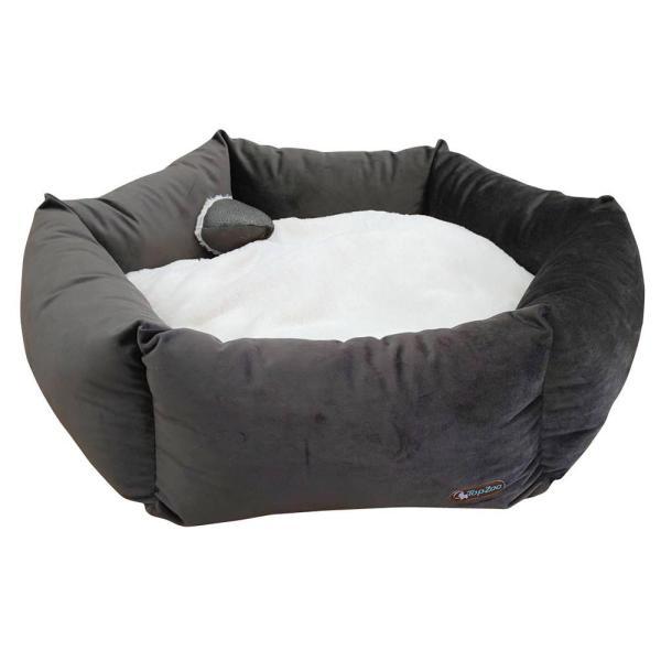 代引不可品  TopZoo ペット用ベッド バスケット フラワー L
