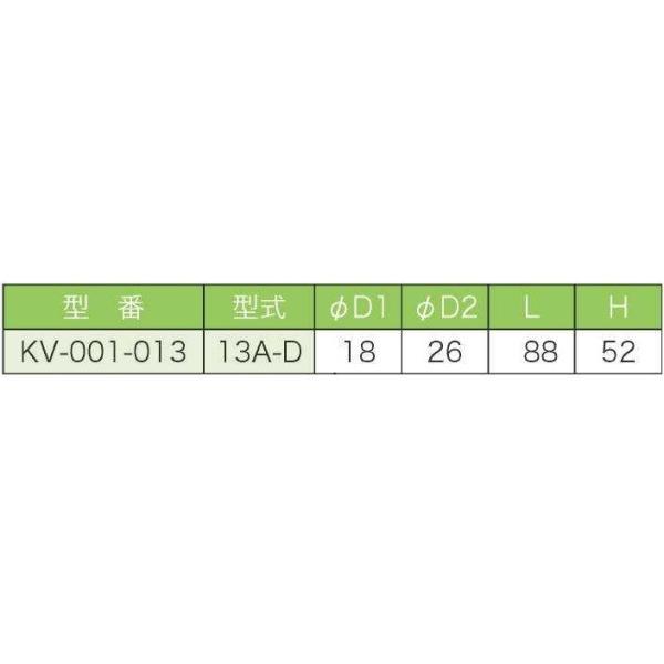 バルブ ブロワ リニアコック S型 13A-D (灰) 風量調整 目盛つき 関西化工 kansaikako 03
