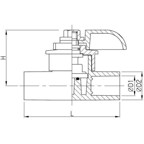 バルブ ブロワ リニアコック S型 13A-D (灰) 風量調整 目盛つき 関西化工 kansaikako 04