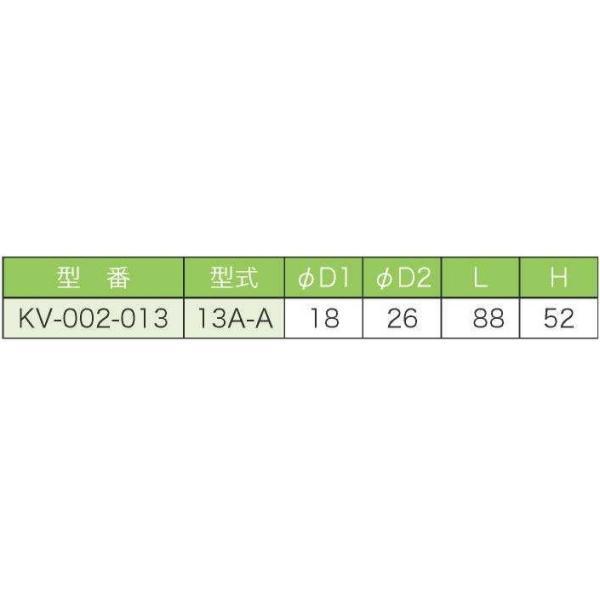 バルブ ブロワ リニアコック S型 13A-A (黄) 風量調整 目盛つき 関西化工|kansaikako|03