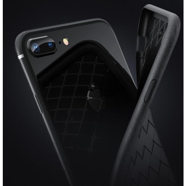 a2a1e52a26 ... iPhone8 Plus ケース iPhone7 Plus ケース 編み込み レザー おしゃれ ケース かわいい 大人 人気 スマホケース  スマートフォンカバー ...