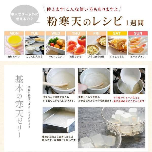 粉寒天 100+20g ネコポスセット【初回限定・送料無料】|kantenhonpo|02
