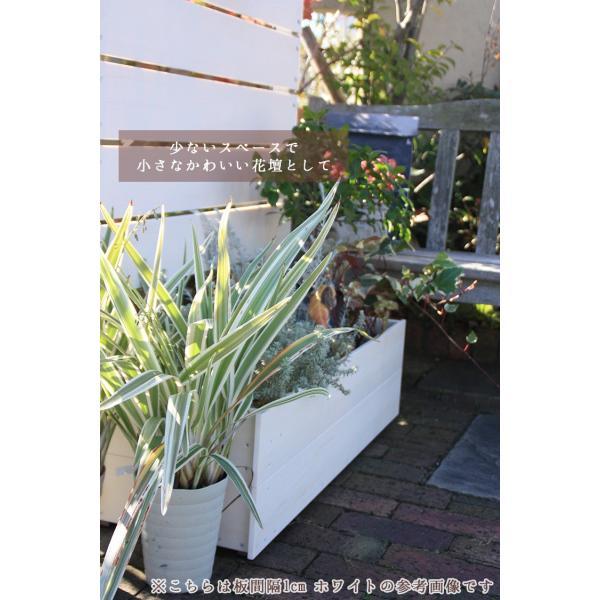 フェンス ガーデンフェンス プランター付きフェンス 目隠し おしゃれフェンス ガーデニング 木目調 樹脂製 高さ180cm×幅90cm 板間隔1cm 連結使用可能|kantoh-house|05