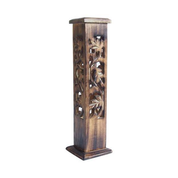 お香立て インセンスホルダー マンゴーウッド タワー型|kaori-market