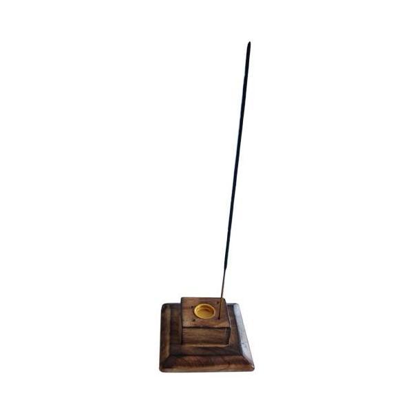 お香立て インセンスホルダー マンゴーウッド タワー型|kaori-market|04