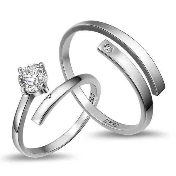 セール ペアリング シルバー925 リング セット set シルバー 誕生日 記念日プレゼント 男性 女性 マリッジリング 結婚指輪 ペア メンズ レディース お揃い