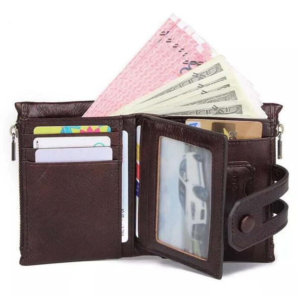 267759897893 ... 本革 財布 牛革2つ折り財布 折り財布 小銭入れ カード収納 レザー メンズ サイフ ...