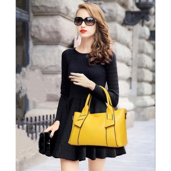 レディースハンドバッグ  女性 ショルダーバッグ 鞄 トート フォーマル カジュアル 通勤 通学 バッグ 斜め掛け バッグ|kaoru-shop|02