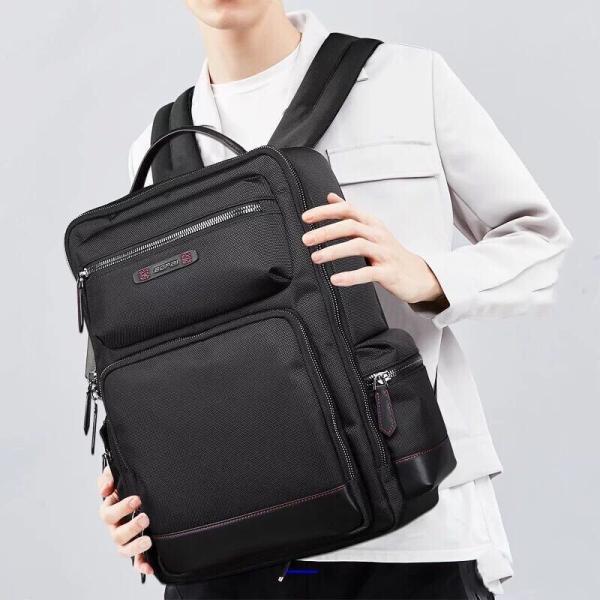 ビジネスリュック ビジネスバッグ メンズ 鞄 男性 通勤 出張 リュックサック 革 バッグ フォーマル カジュアル|kaoru-shop