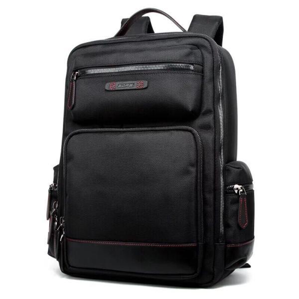 ビジネスリュック ビジネスバッグ メンズ 鞄 男性 通勤 出張 リュックサック 革 バッグ フォーマル カジュアル|kaoru-shop|02