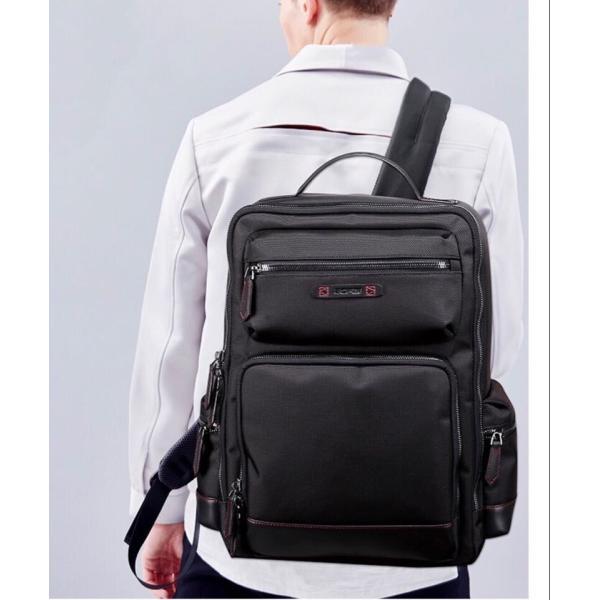 ビジネスリュック ビジネスバッグ メンズ 鞄 男性 通勤 出張 リュックサック 革 バッグ フォーマル カジュアル|kaoru-shop|06