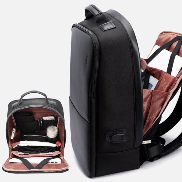 ビジネスリュック ビジネスバッグ 充電 メンズ 鞄 男性 通勤 出張 リュックサック 革 バッグ フォーマル カジュアル|kaoru-shop