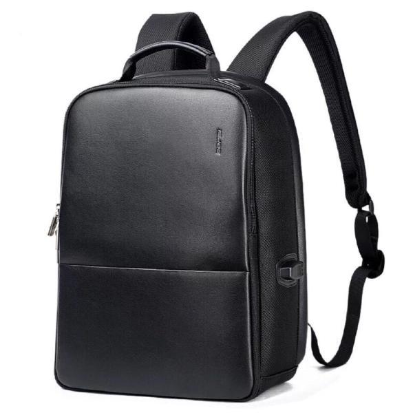 ビジネスリュック ビジネスバッグ 充電 メンズ 鞄 男性 通勤 出張 リュックサック 革 バッグ フォーマル カジュアル|kaoru-shop|02
