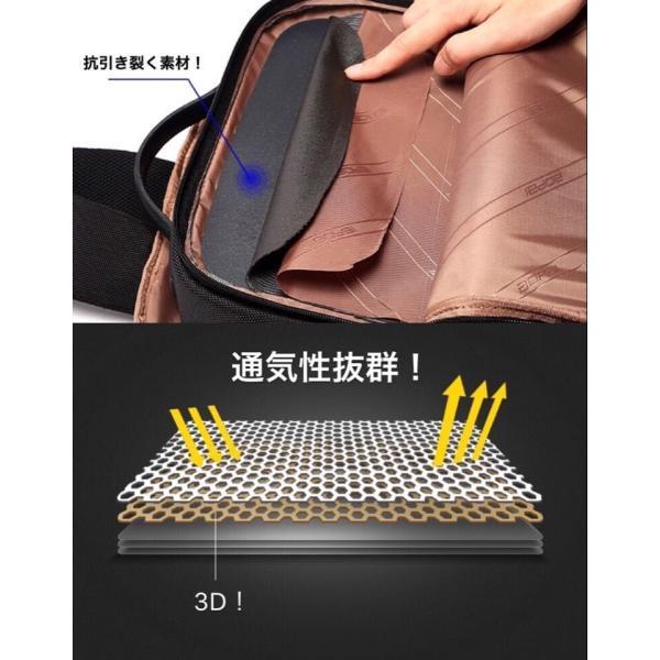 ビジネスリュック ビジネスバッグ 充電 メンズ 鞄 男性 通勤 出張 リュックサック 革 バッグ フォーマル カジュアル|kaoru-shop|06