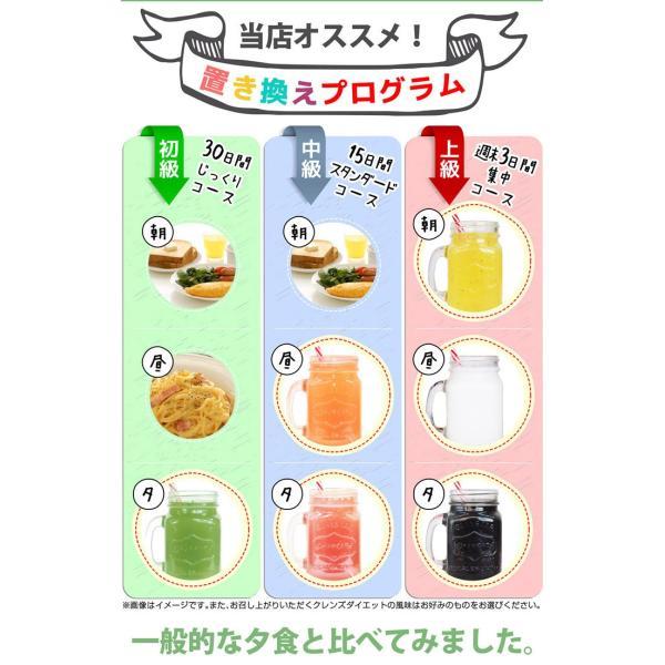 ダイエット ダイエットドリンク 低糖質 healthylife クレンズダイエット(全6種類)(メール便対応) クレンズ 食物繊維 低カロリー リコピン カロテン|kaoru-shop|15