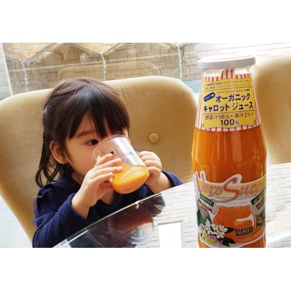 にんじん ジュース 送料無料 一部地域を除く アウレーリ 有機キャロットジュース 750ml×12本入 瓶 オーガニック イタリア|kappa-chianti|08