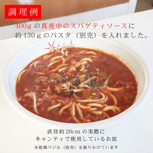パスタソース レトルト 冷凍 真夜中のスパゲティ 少し辛目のガーリックトマトスープ仕立て 400g×3個セット 冷凍食品 ギフト お取り寄せ グルメ|kappa-chianti|14