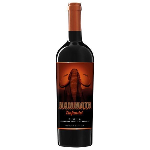イタリアワインマーレマンニュムマンモスジンファンデル750ml赤wine