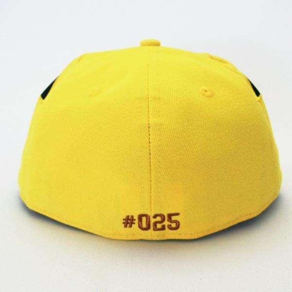 KIDS 子供用 ニューエラ NEWERA×ポケモン コラボ 帽子 KIDS 59FIFTY ポケモン ビッグフェイス ピカチュウ|kappacraft|02