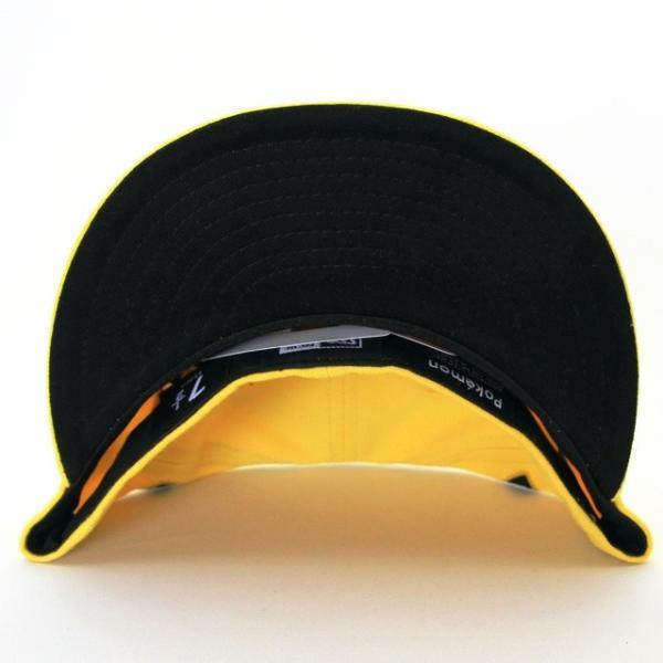 KIDS 子供用 ニューエラ NEWERA×ポケモン コラボ 帽子 KIDS 59FIFTY ポケモン ビッグフェイス ピカチュウ|kappacraft|03