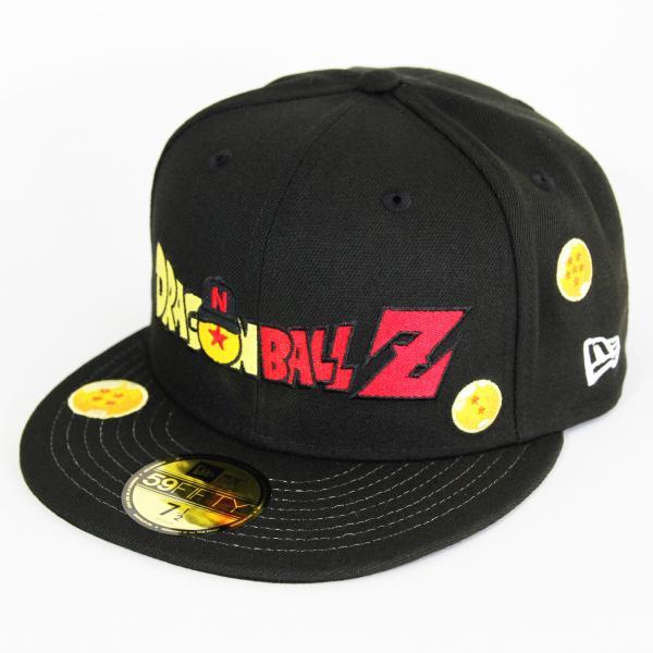 ニューエラ NEWERA×ドラゴンボール 59FIFTY DRAGON BALL Z ドラゴンボール タイトルロゴ ブラック