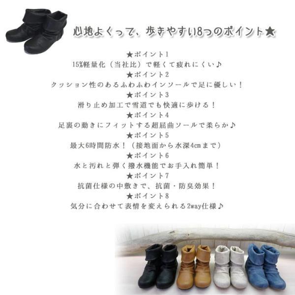 レインブーツ レインシューズ 春ブーツ レディース ブーツ ぺたんこ 撥水加工【PREPRICE】