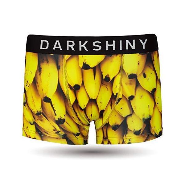 [DARK SHINY(ダークシャイニー)] ボクサーパンツ メンズ BANANA バナナ (XXL)